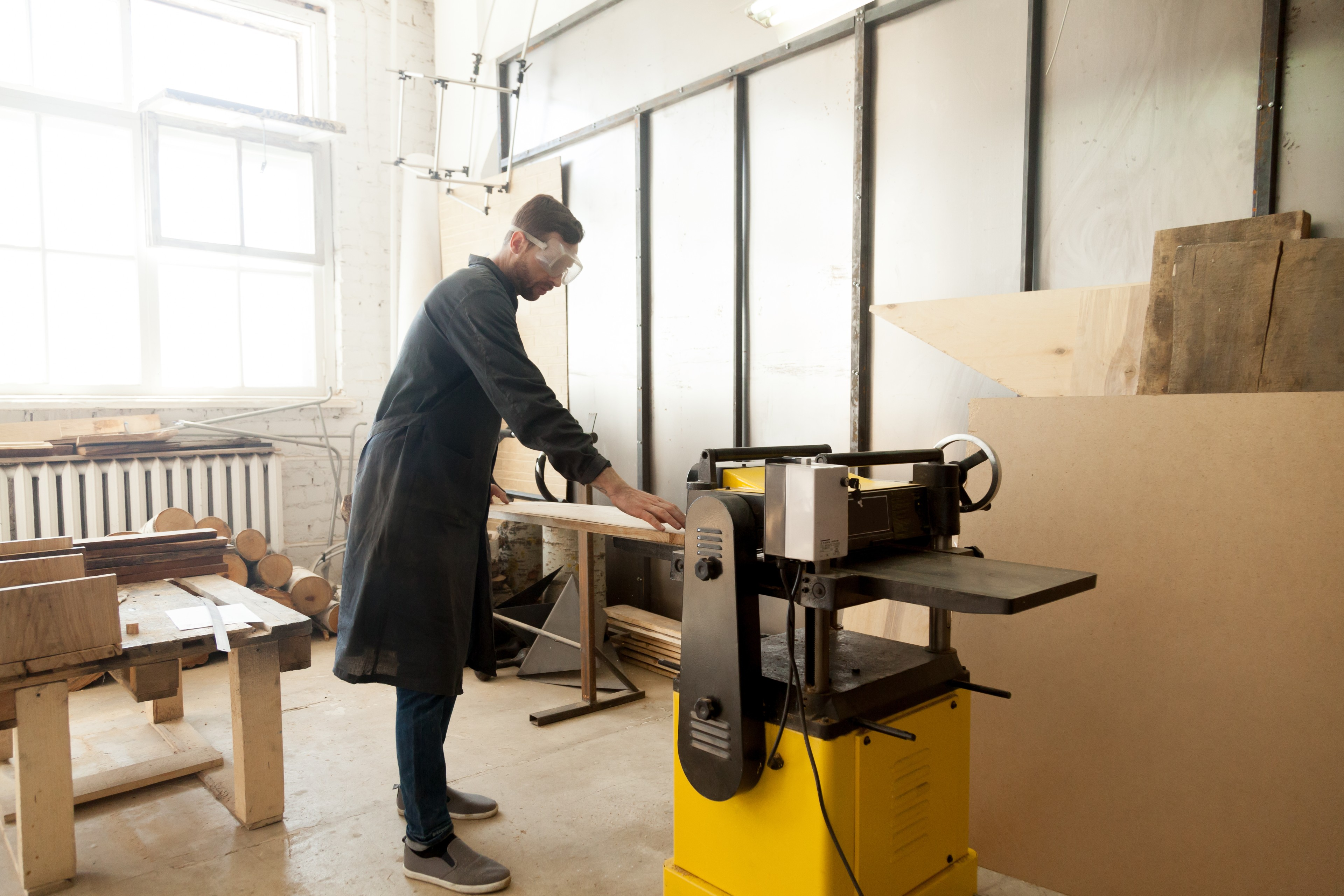 planer used in shop