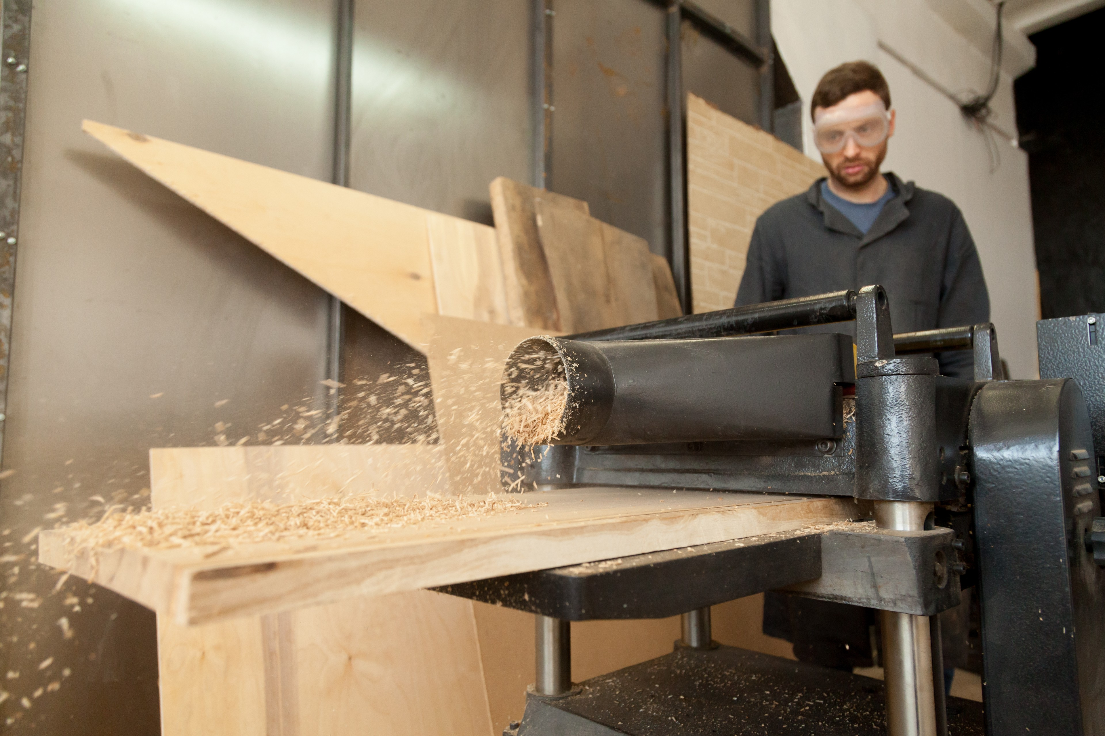 planer in action