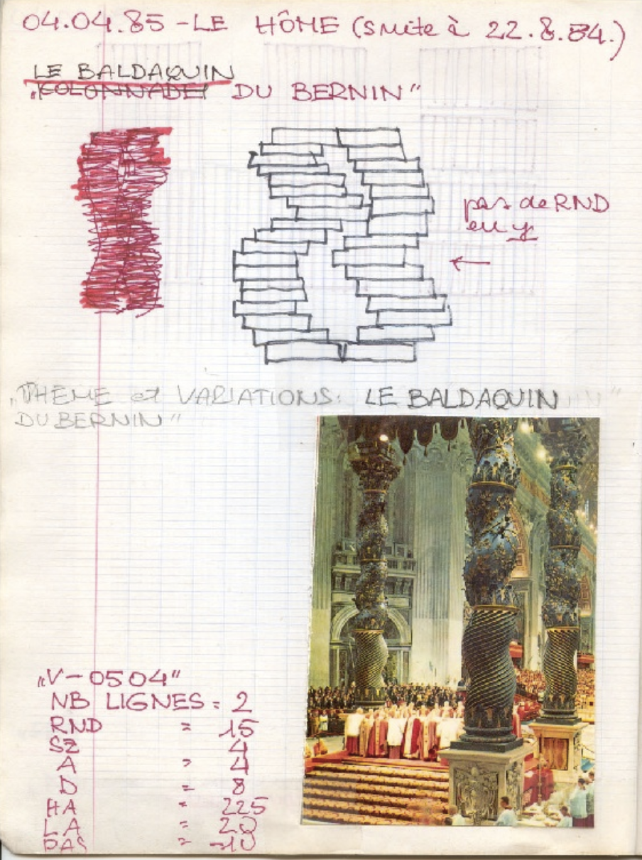 mage 3: CDROM Véra Molnar. Diaries. 1976-2003. Present Edition composed 2008. EA 3208. Rennes 2. Copyright
