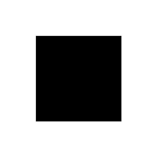 Black square over white. Copied 500 times to make the data set feed into StyleGAN