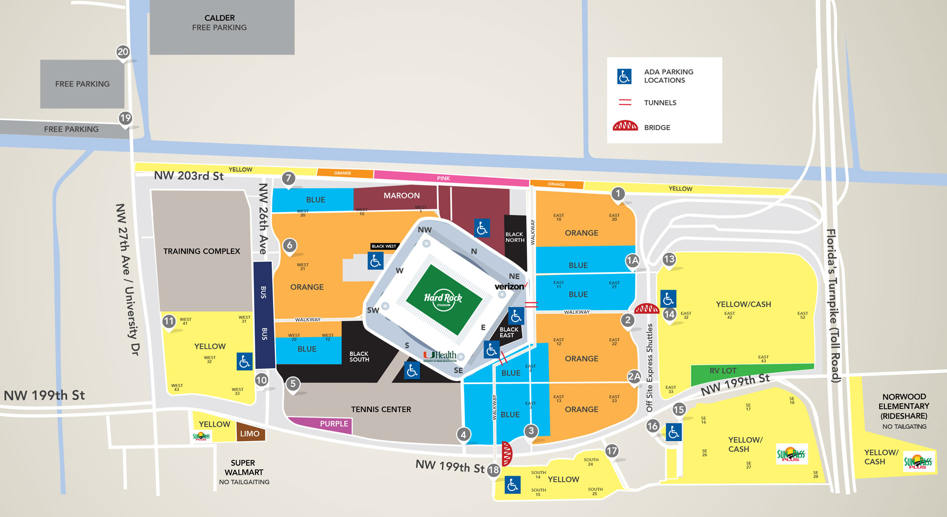 best hard rock stadium parking from $25 (2020) rates + reviews