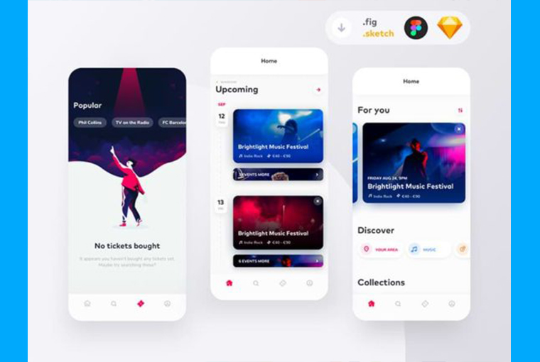 10+ Free Sketch UI Kits for Your Next Mobile or Web Projects 6