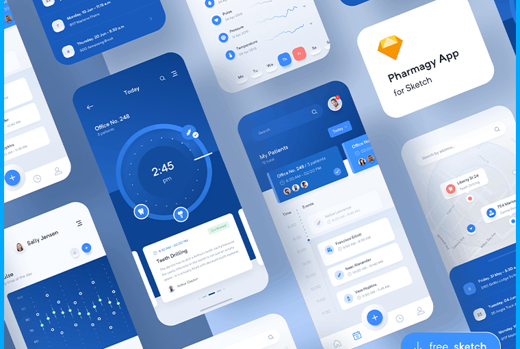 10+ Free Sketch UI Kits for Your Next Mobile or Web Projects 8