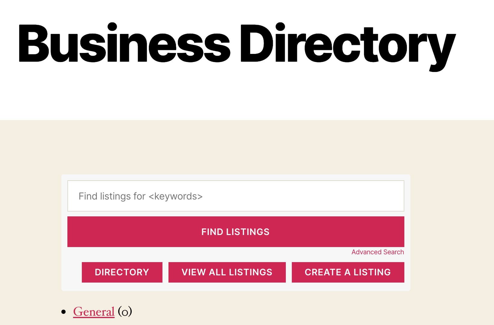 This plugin will generate a business directory page automatically.