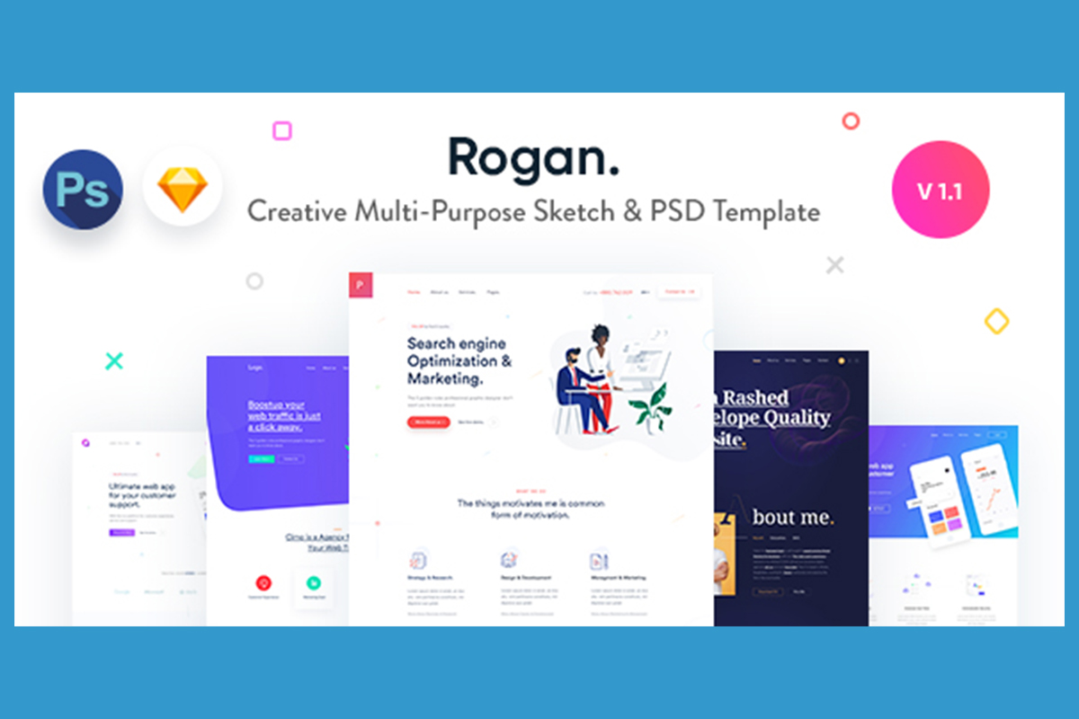 7 Best Sketch Templates for Perfect Web And App Design 2