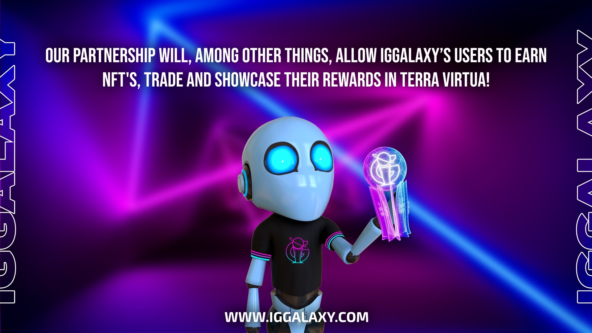 Great NFT rewards will also be available to Galacticans that participate in IGGalaxy tournaments!