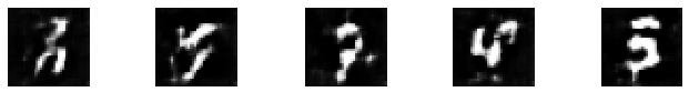 Fig 11: Generated images logged using W&B.