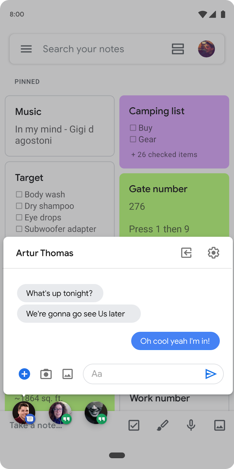 Chat Bubbles in Android 10 Beta 2 - Image Credits: <a href='https://android-developers.googleblog.com/2019/04/android-q-beta-2-update.html' class='bbc_url' title='External link' rel='nofollow external'></span>https://android-deve...a-2-update.html</a>