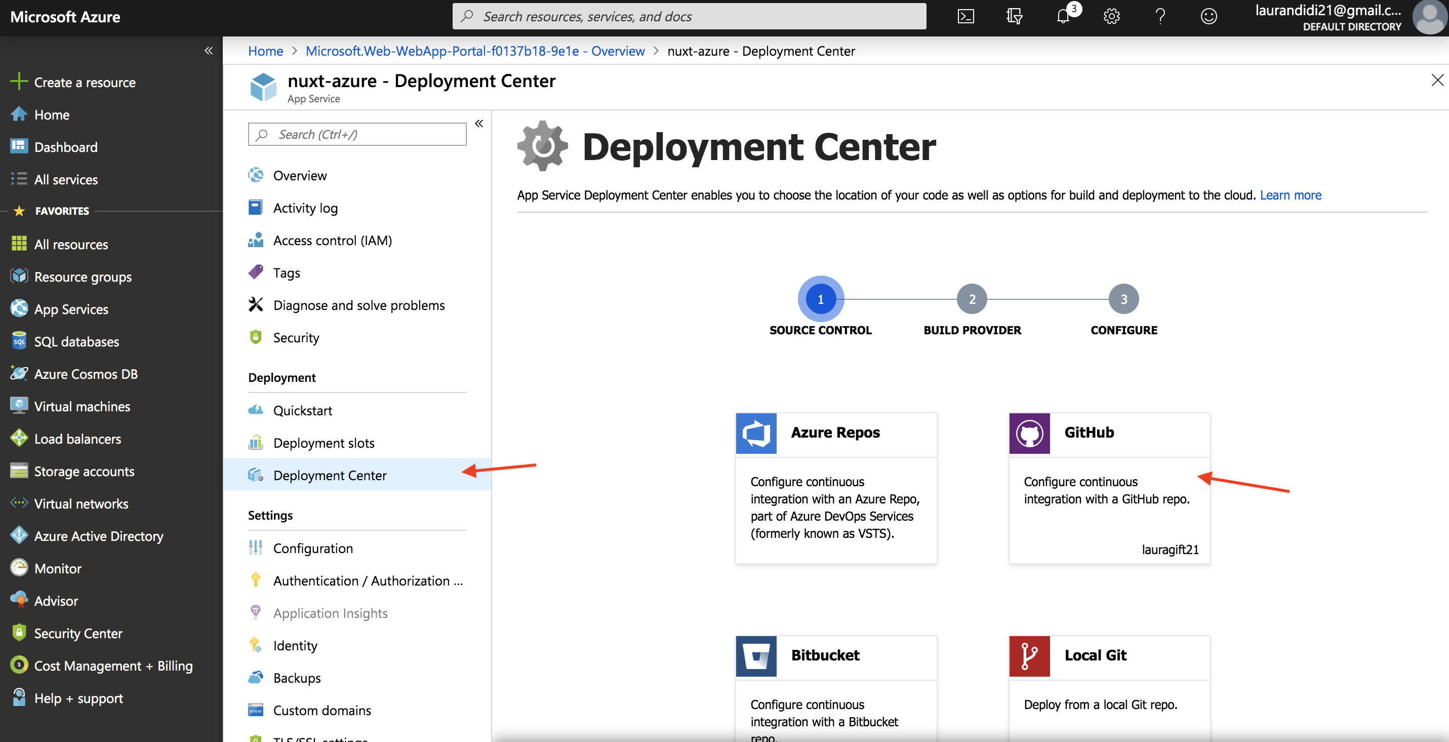 Deploying a Static Nuxt App to Azure