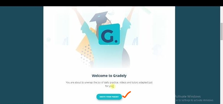 How to join Gradely as a student