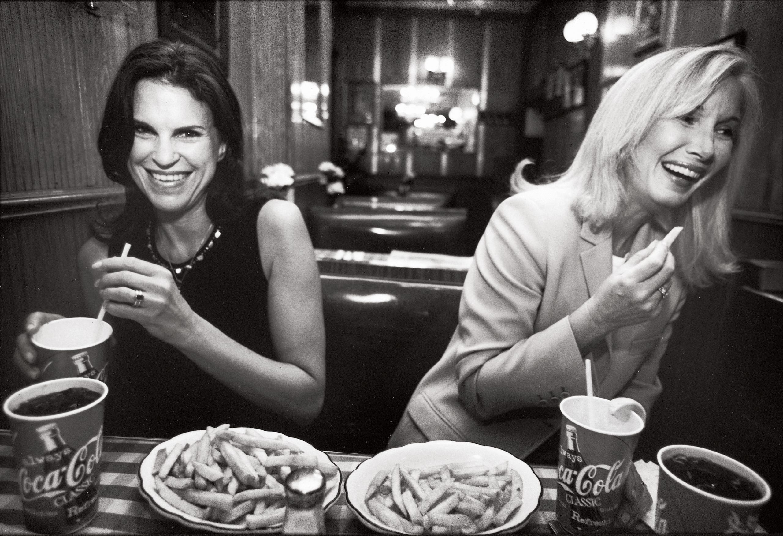 Candice Carpenter (left) and Nancy Evans (right). Image credit: The New Yorker