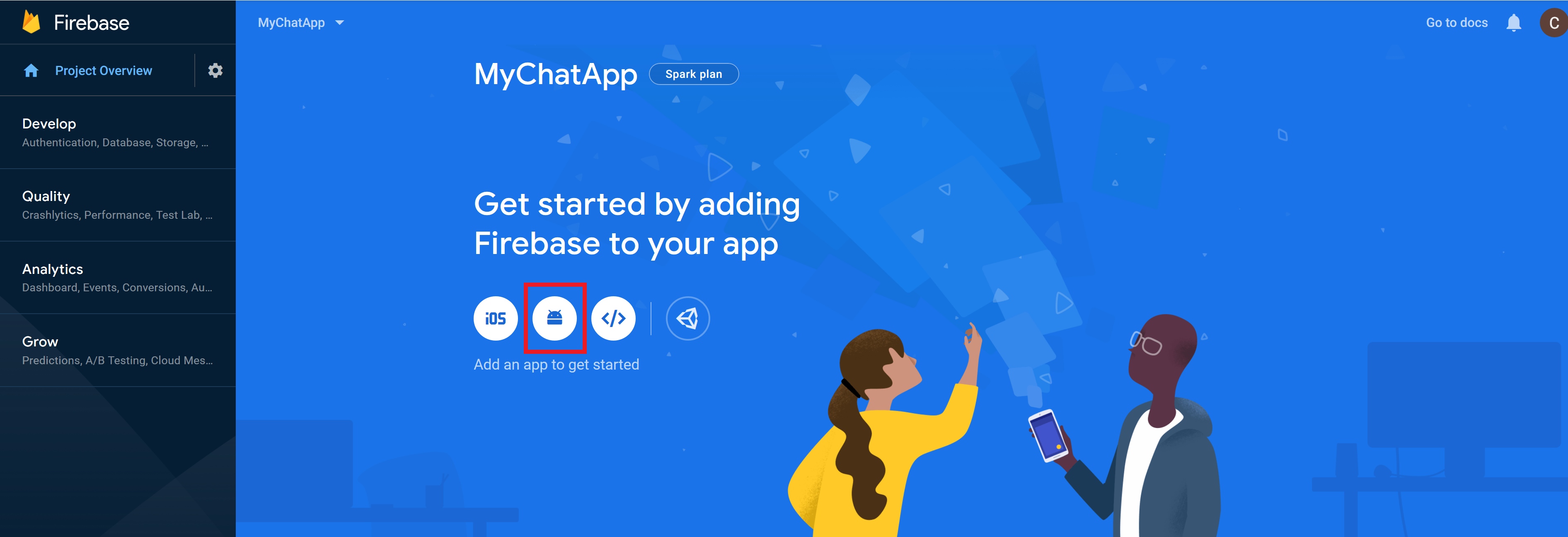 Adding Android App in Your Firebase Project