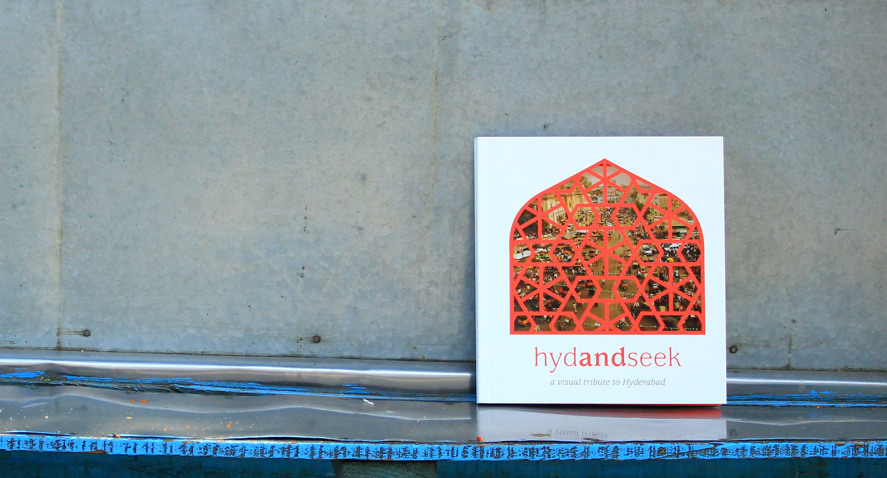 HydandSeek, a visual tribute to Hyderabad, Bluepencil Infodesign, 2016 • Photos: Ragini Siruguri / Bluepencil Infodesign