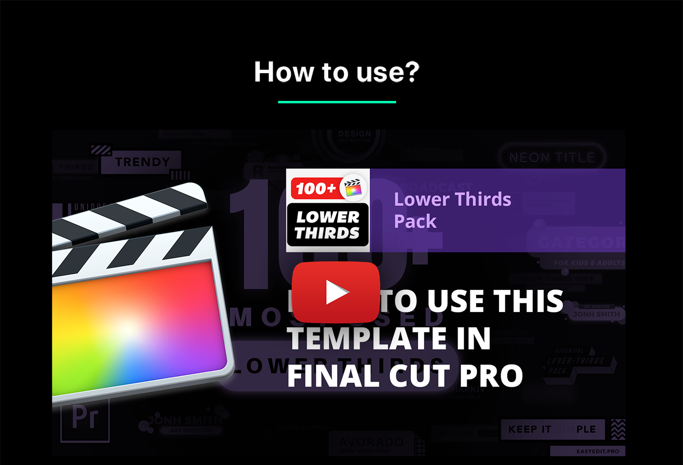 Videohive | Lower Thirds Pack | Final Cut Free Download #1 free download Videohive | Lower Thirds Pack | Final Cut Free Download #1 nulled Videohive | Lower Thirds Pack | Final Cut Free Download #1