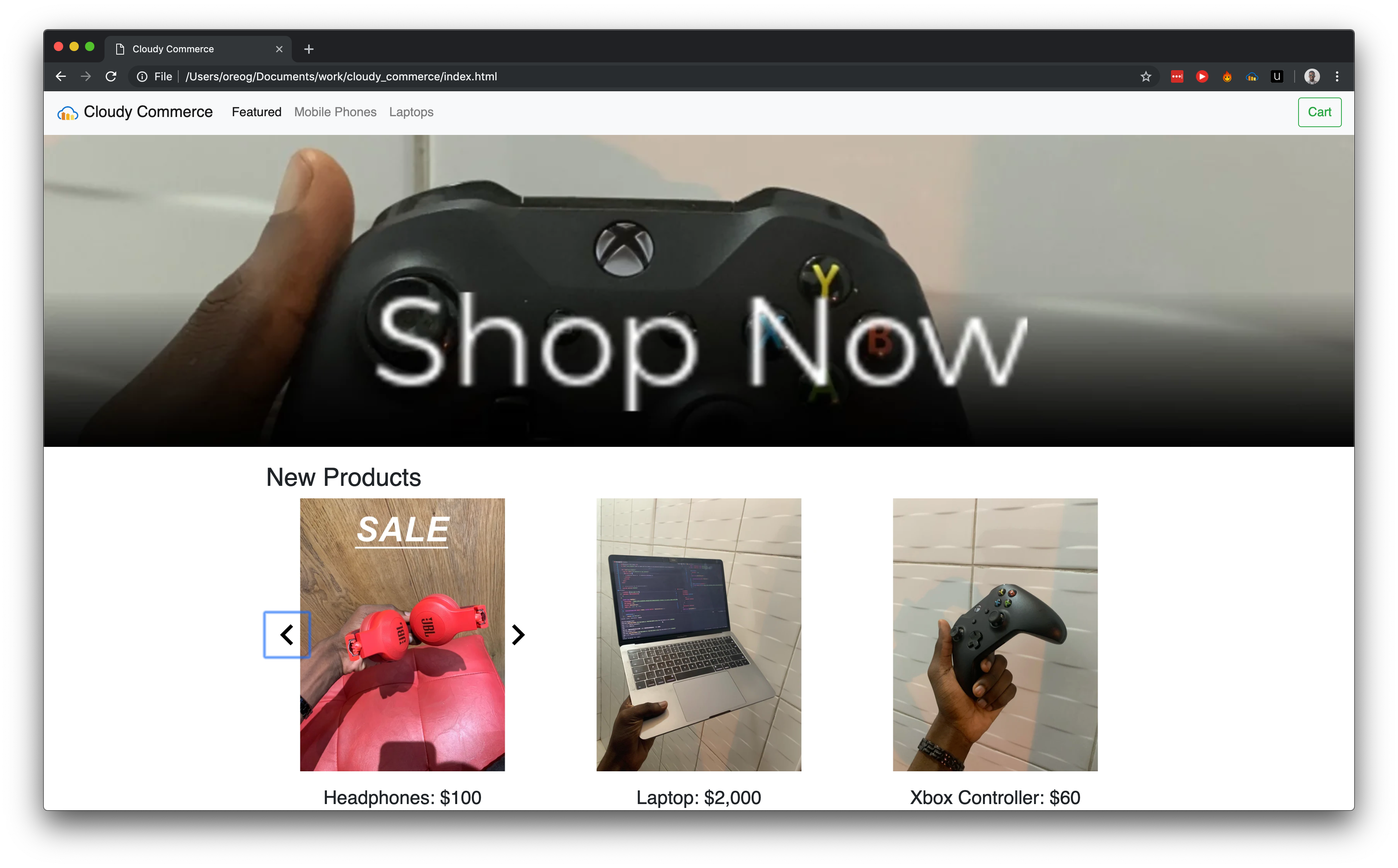 Quickly Build Product Galleries for eCommerce Sites ― Scotch io