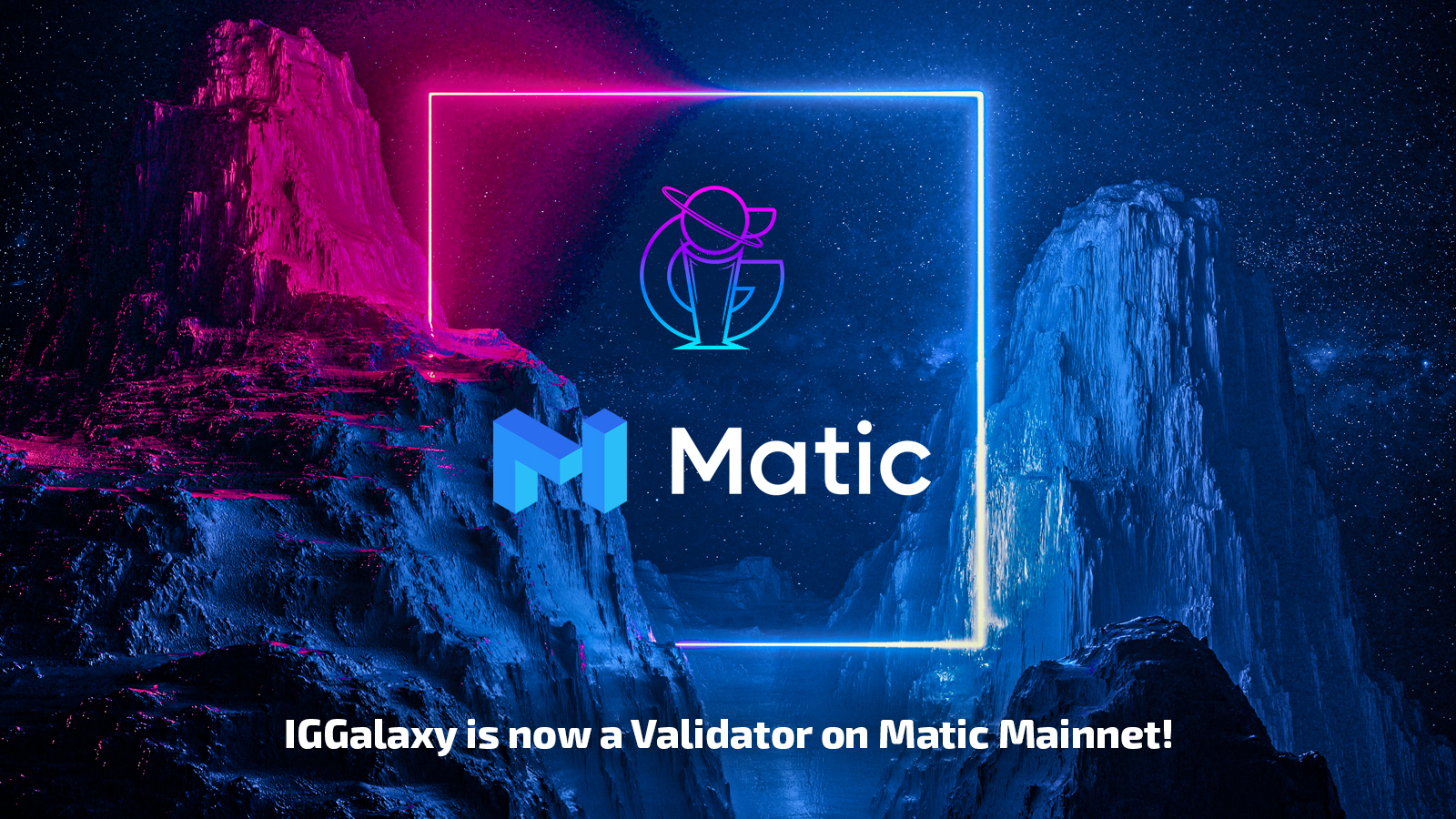IGGalaxy now operating a Validator node on the Matic network mainnet