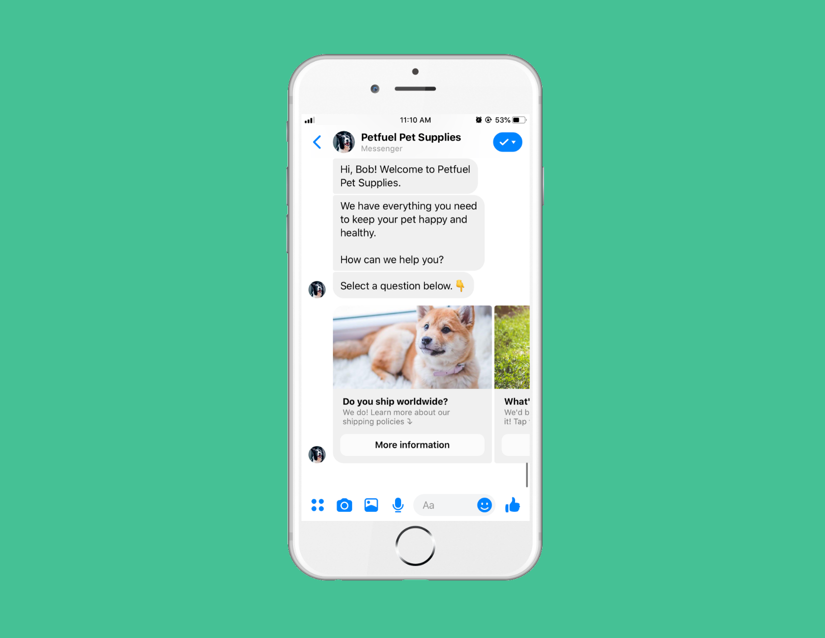 Using a Chatbot to Guide the Buyer's Journey