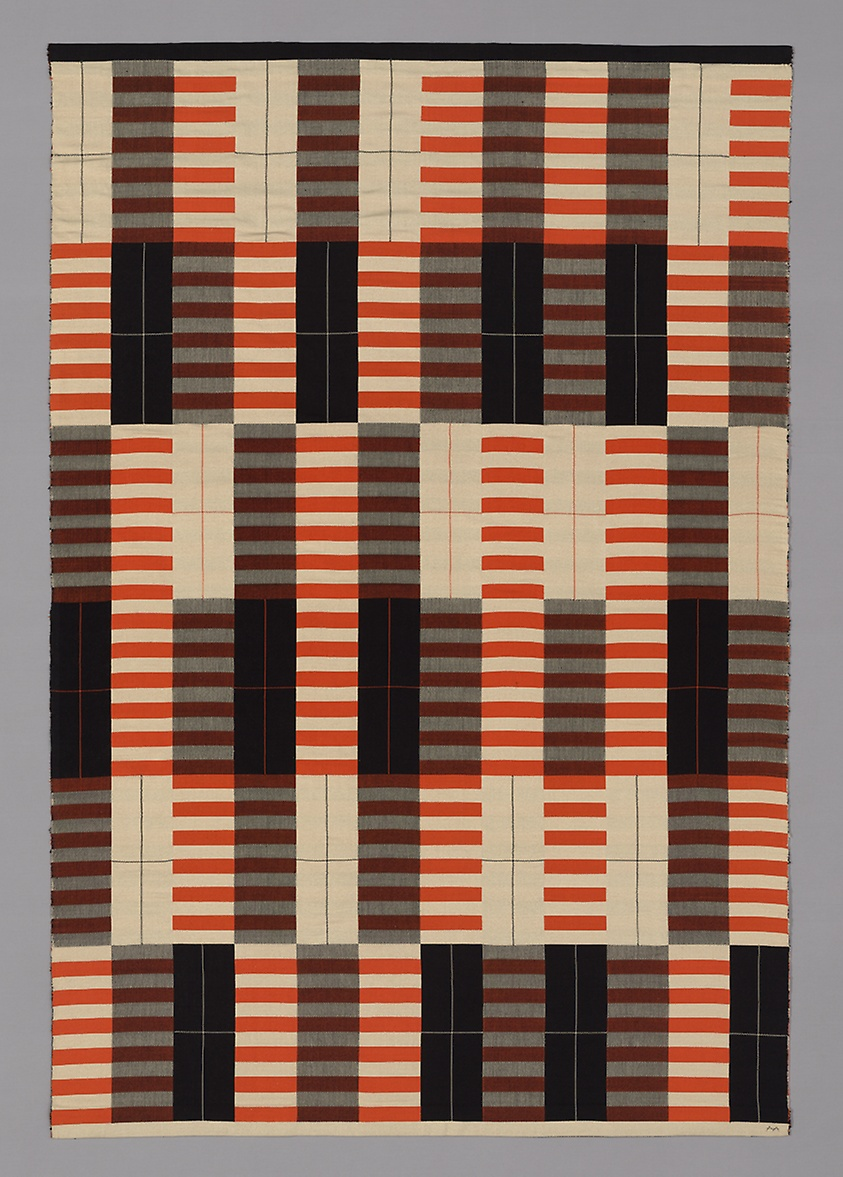Designed 1926/27, woven 1965 Artist: Designed by Anni Albers (American, born Germany, 1899–1994) Woven by Gunta Stölzl (German, 1897–1983) Originally produced by the Bauhaus Weaving Workshop (Germany, 1919–1933)