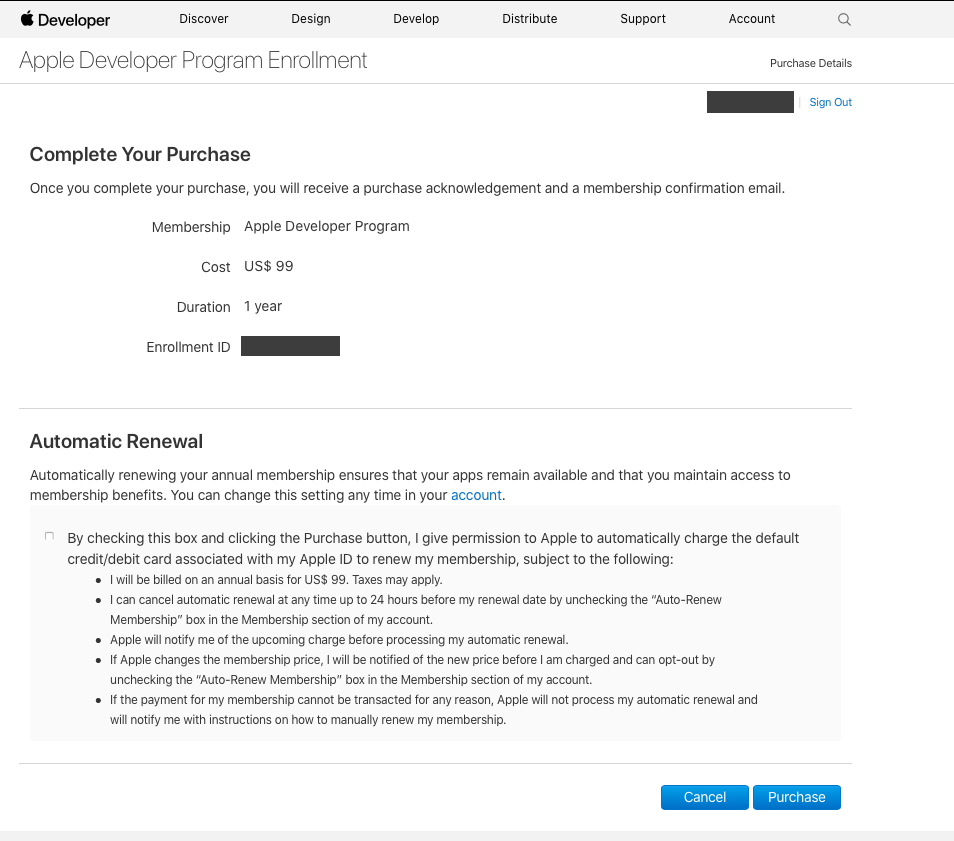 Creating Apple Developer Account – ImpactFactors