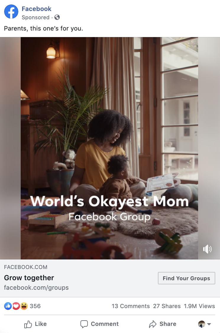 Facebook Groups video