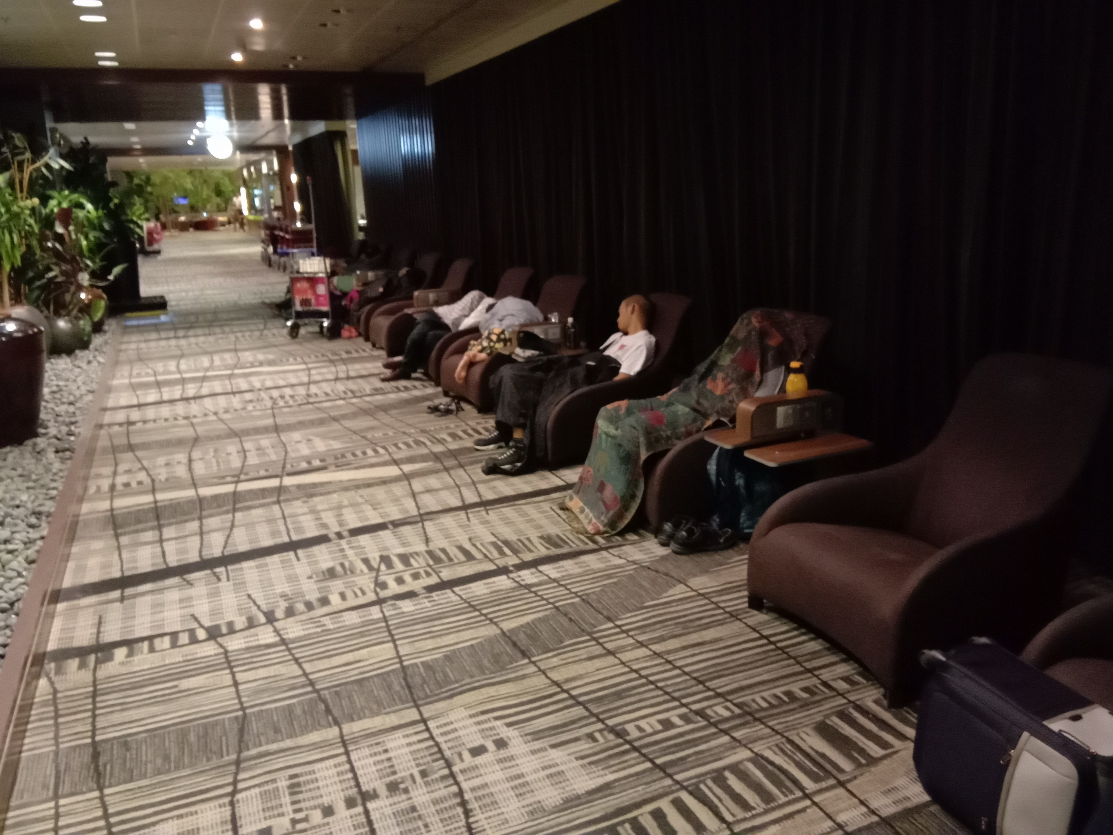 Snooze lounge in Terminal 3