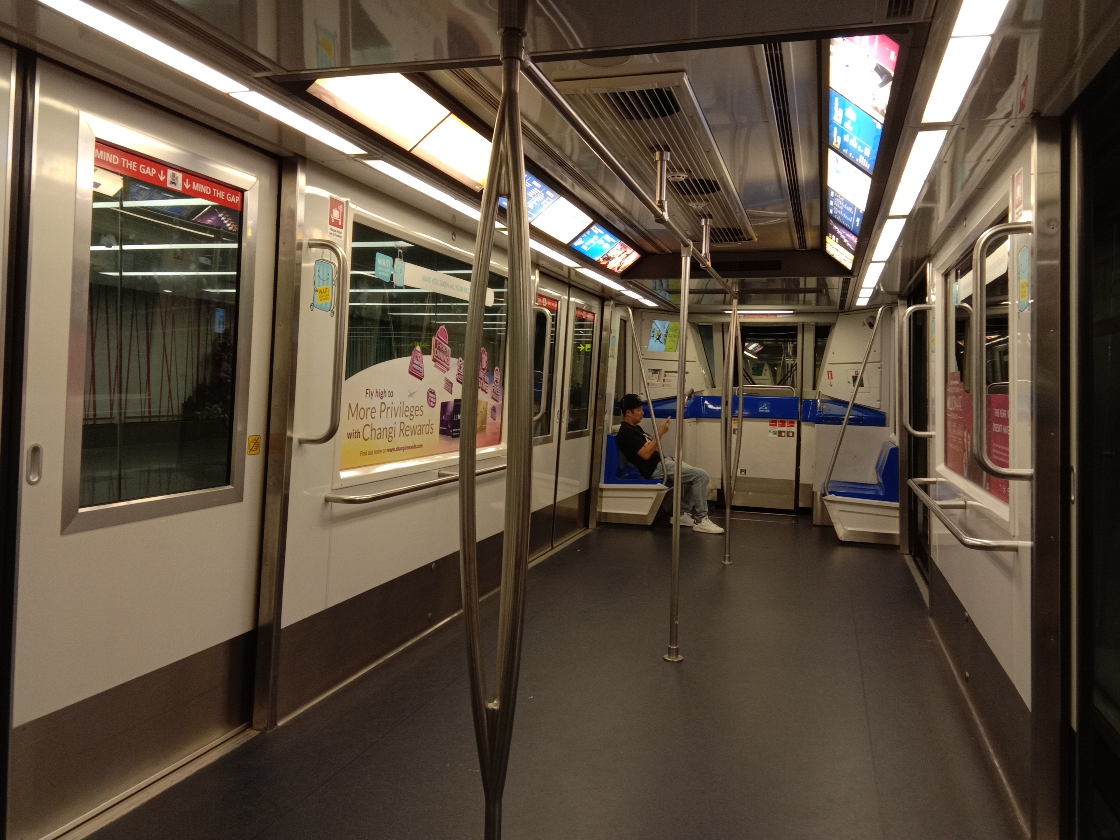 Skytrain and it's free!