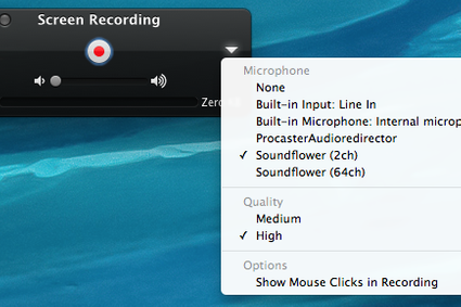 How To Record Live Stream With Quicktime